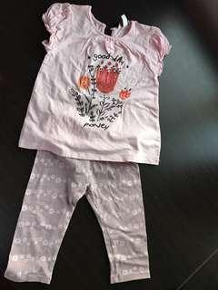 2 set Poney girl shirt and legging