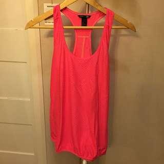 H&M workout top pink
