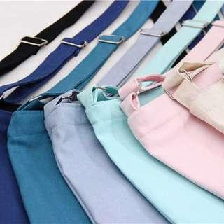 [po] ulzzang / harajuku / korean plain shoulder/sling bag