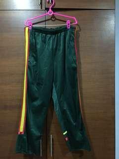 Vintage Green Track Pants