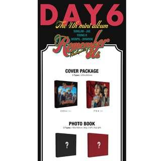 [PREORDER] 데이식스 (DAY6) - REMEMBER US : YOUTH PART 2 (4TH Mini Album)