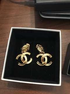 Chanel Vintage 香奈兒 復古 古董 耳環 香奈兒耳環