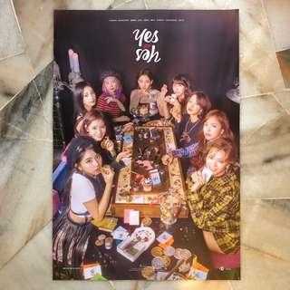 TWICE Yes or Yes : Posters (Ver.A / C)