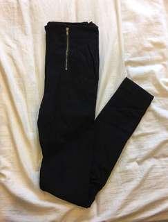 🚚 高腰窄管小腿褲