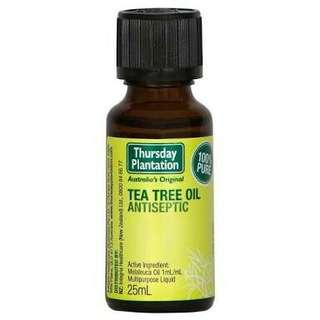 Pre- Order! Thursday Plantation Tea Tree Oil 25ml
