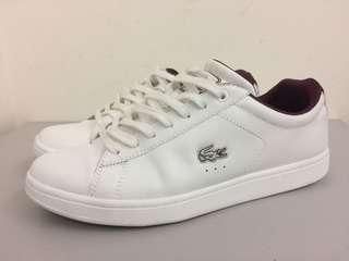 Lacoste WHITE GENUINE LEATHER