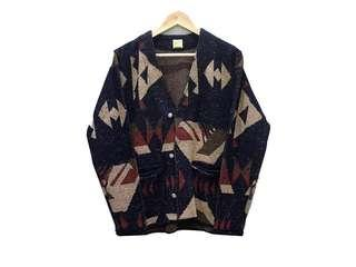 Barns Outfitters Jacquard Knit Cardigan