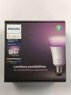 Philips Hue White & Colour Wireless Ambiance Starter Kit
