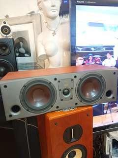 Dail center channel speaker.