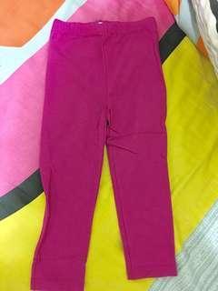 Pink shimmer leggings - brand new