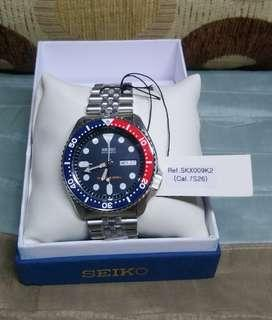 Brand New Seiko Divers Stainless Steel Men's Watch SKX009K2