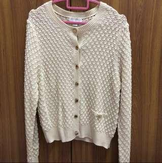 Cotton On Beige Knit Cardigan