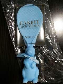 兔仔淺藍色飯杓 franc franc rabbit light blue rice spoon