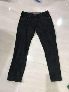 Hugo Sport Man black jeans