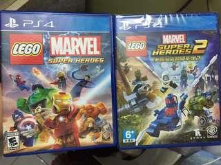 LEGO Marvel Superheroes 1 + LEGO Marvel Superheroes 2