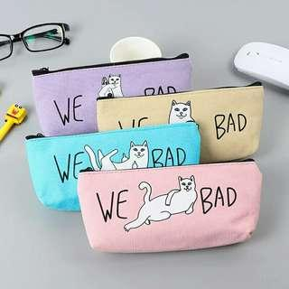 Free Gratis Ongkir - We Bad Pencil Case / Tempat Pensil