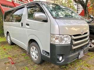 Toyota Hiace 3.0 Standard Roof DX Van Manual Tranaport Delivery Redmart