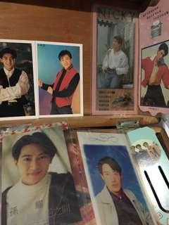 20年前明星老書籤書卡(吳奇隆/蘇有朋/LABOY/孫耀威/林志穎/黎明)