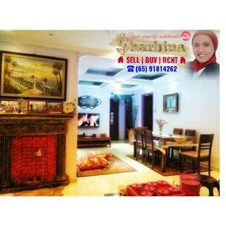 5'i' HDB with 4 bedrooms @ 228 Simei St 4
