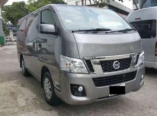 COMMERCIAL VAN NISSAN NV350 FOR RENTAL AT YOUR SERVICE
