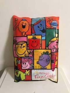 全新未拆袋麥當勞McDonald's Mr Men Little Miss tote bag 送 catalo 一盒