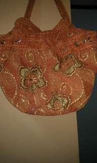 Coral flower ethnic