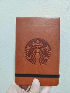 Starbucks pocket notepad