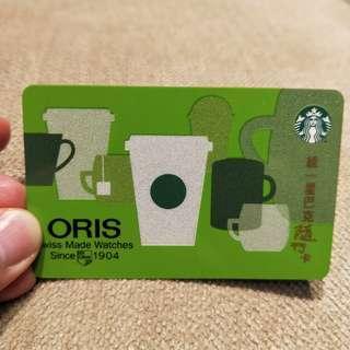 🚚 <星巴克限量>ORIS聯名隨行卡