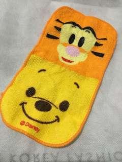 迪士尼維尼與跳跳虎的長條迷你小毛巾