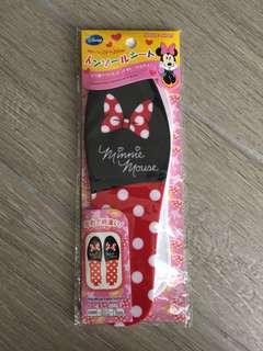 Minnie Mouse Insole sheet 鞋墊