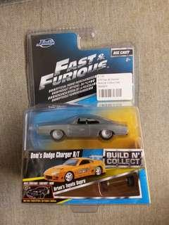 Jada 1/64 Dodge Charger R/T Fast and Furious