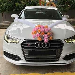 Audi A6 Rental (with driver)