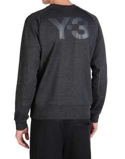 Y3 crewneck sweater