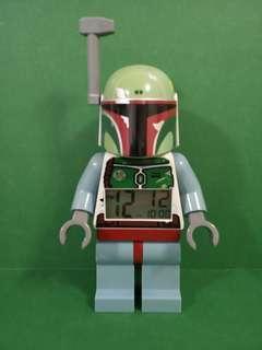 Lego Star Wars boba fett alarm clock 樂高 星球大戰