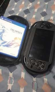 PS VITA 16GB WITH FREE 2 GAMES FFX AND STREETFIGHTERXTEKKEN