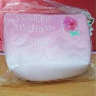 🚚 草莓粉色零錢包