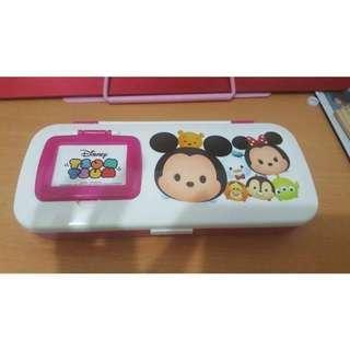 🚚 迪士尼Tsum Tsum鏡梳組鉛筆盒