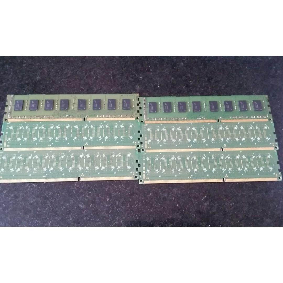 2GBx6 Ram DDR3 HP & Adata Desktop