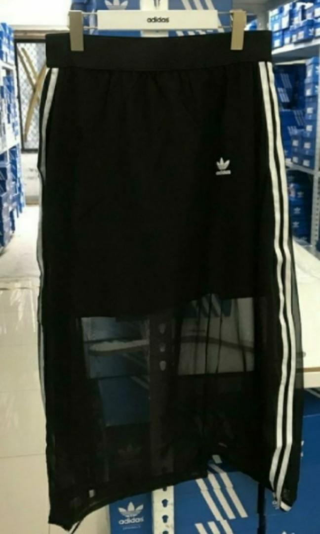 愛迪達adidas 裙子 長裙 紗裙