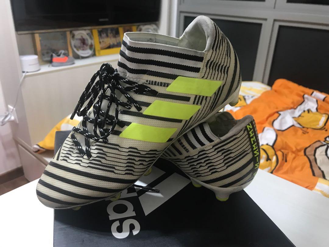 84b69a926cc9 Adidas nemesis Soccer boots, Sports, Sports Apparel on Carousell