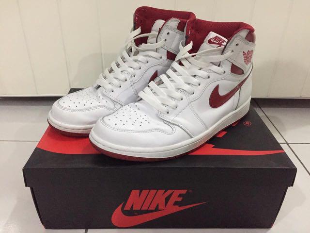 c0eaf65c6e504 Air Jordan 1 Metallic Red