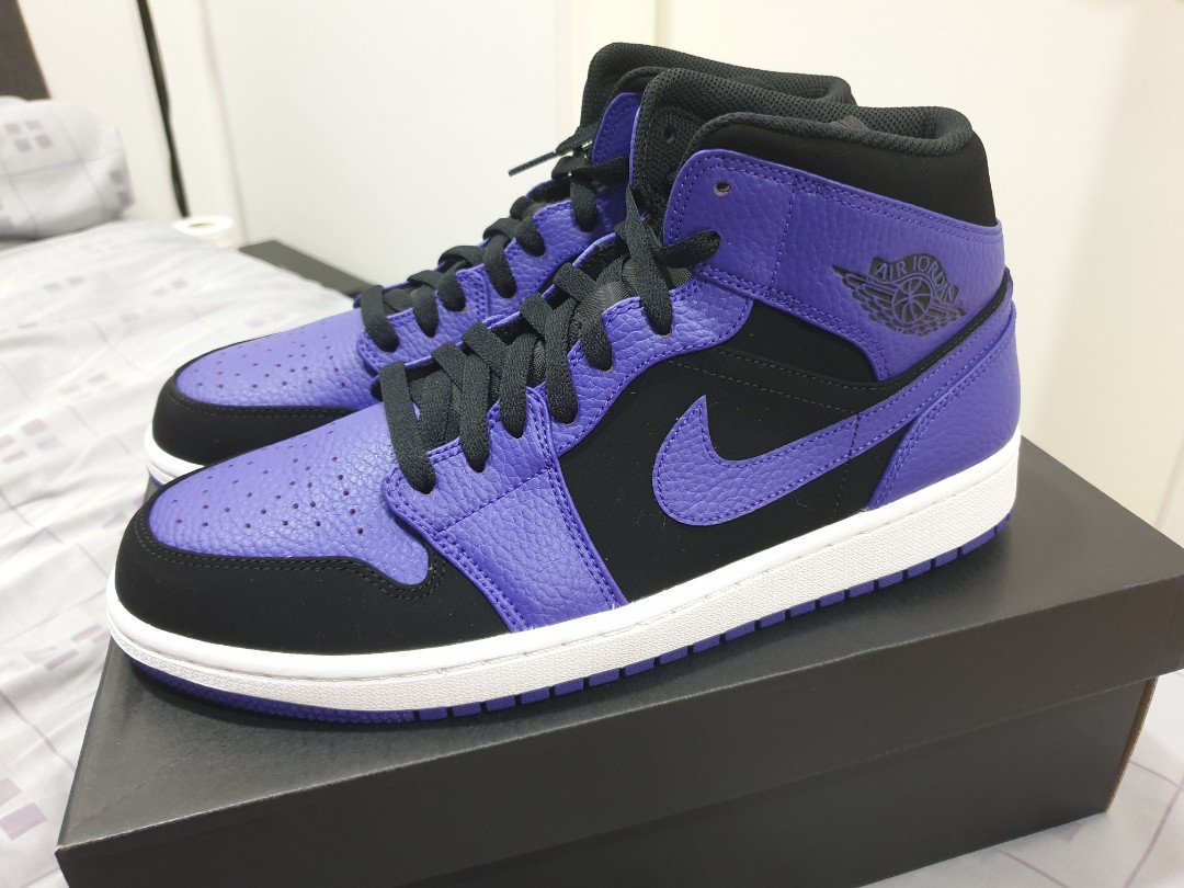 best website a8b41 c6a05 Air Jordan 1 mid Purple