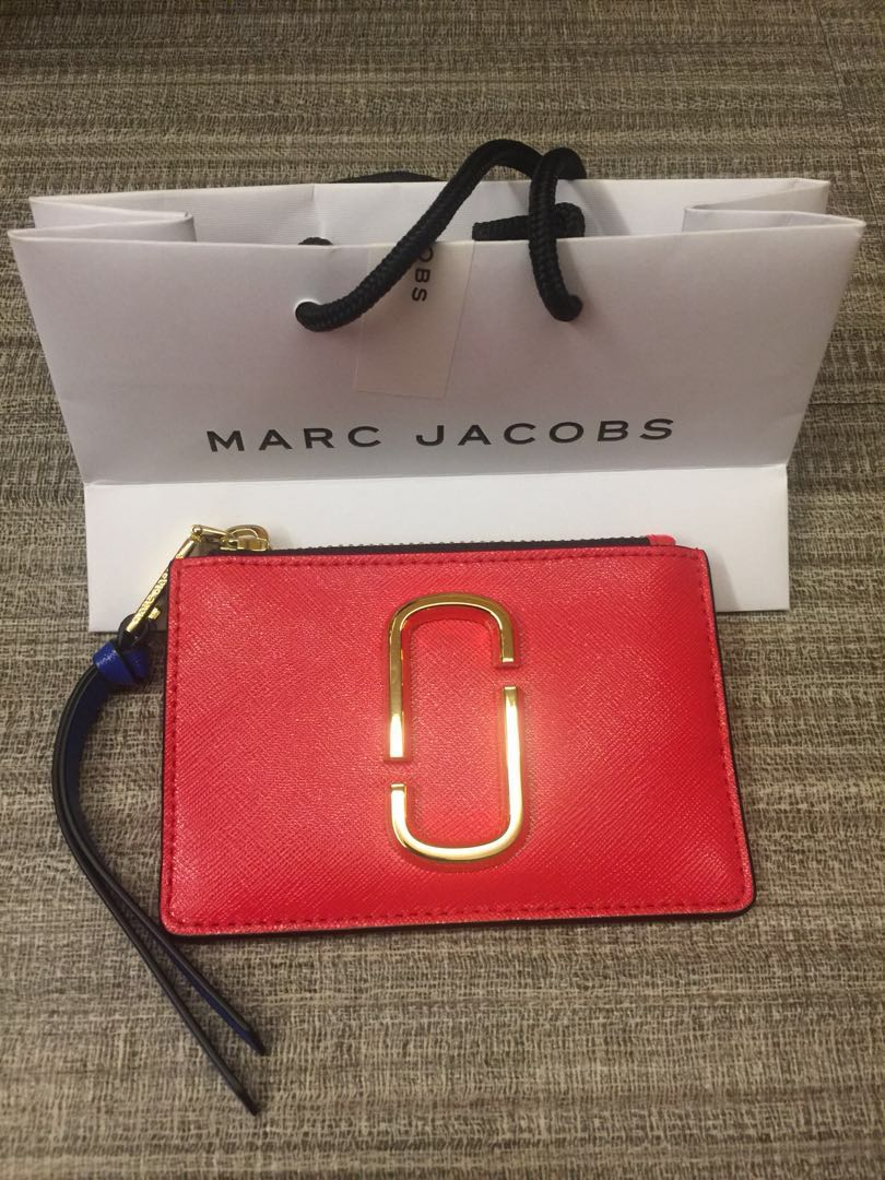 39e8a6db05af Authentic Marc Jacobs Snapshot Top Zip Multi Wallet, Luxury, Bags ...