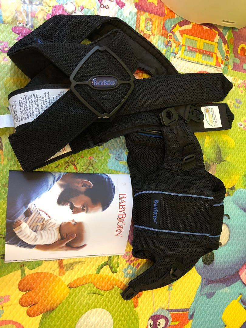 8397ab30362 Baby Bjorn baby carrier original- black mesh