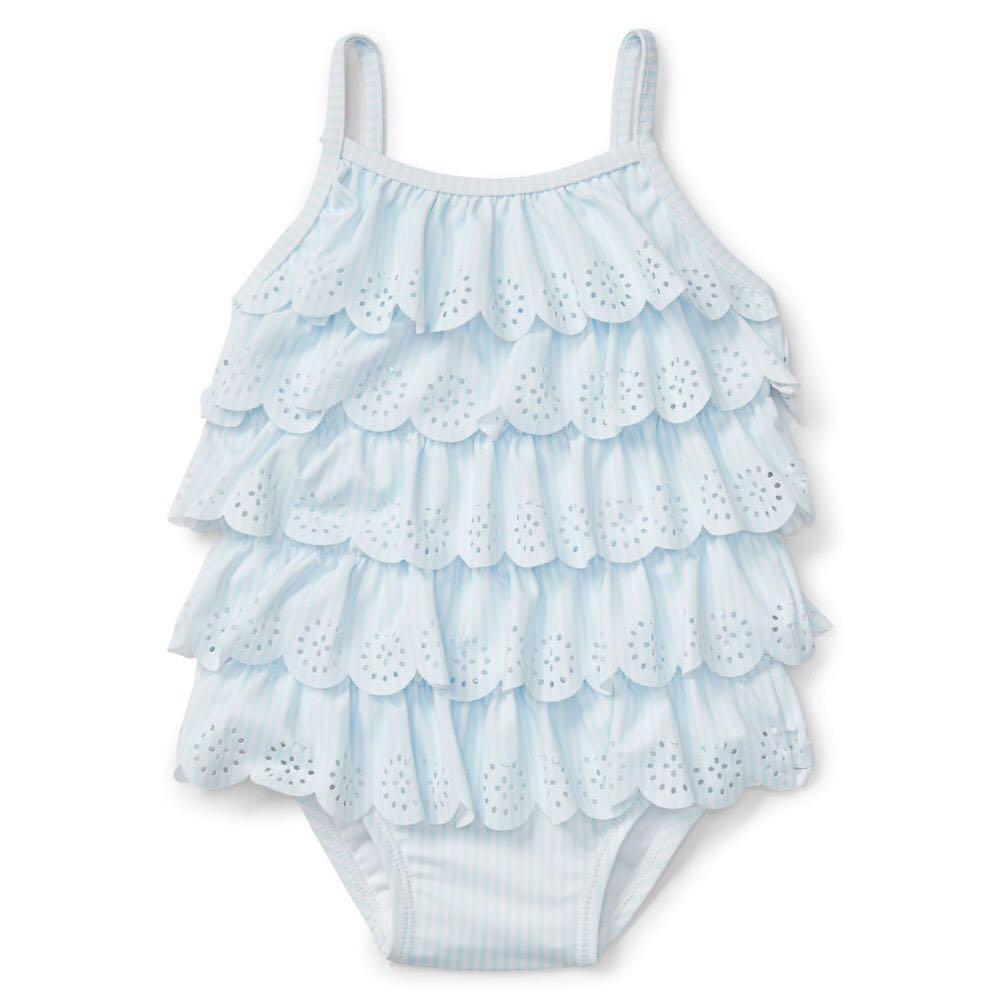 69052f02e69a3 Baby GAP Ruffle Swimwear Swimsuit 18-24m BabyGap, Babies & Kids, Babies  Apparel on Carousell