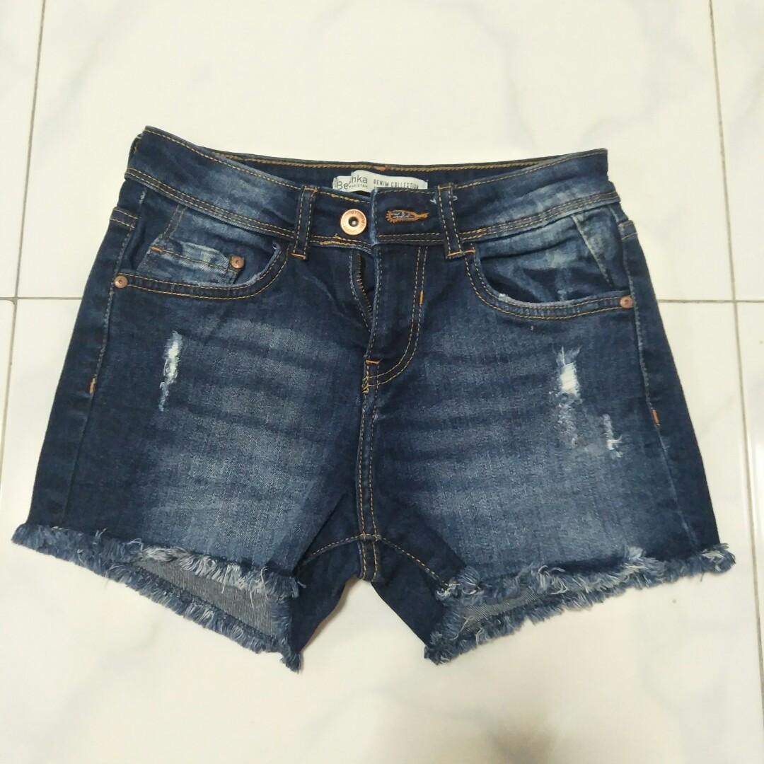 6d320f0653 Bershka Denim Shorts, Women's Fashion, Clothes, Pants, Jeans ...