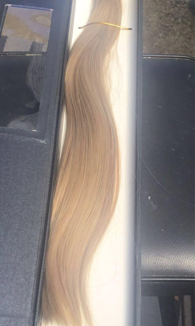 Blonde Hair Extensions Clip In NEW