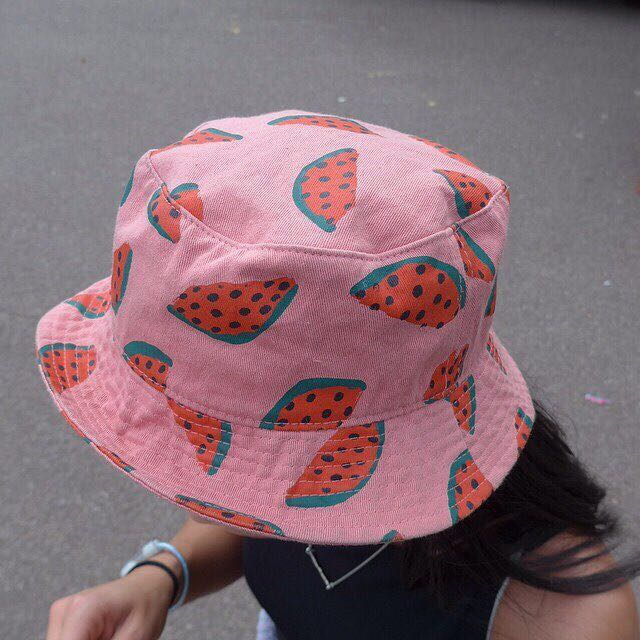 11273b20be4 BLUE watermelon bucket hat