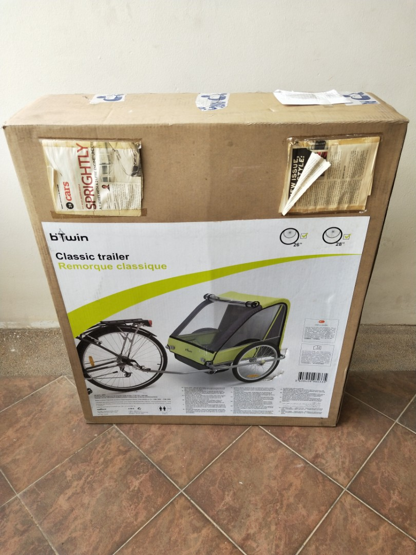 Bnib Classic Bicycle Trailer Bicycles Pmds Parts Accessories