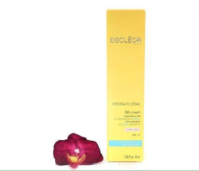 Brand New Decléor Hydra Floral BB Cream SPF15 - Light 40ml